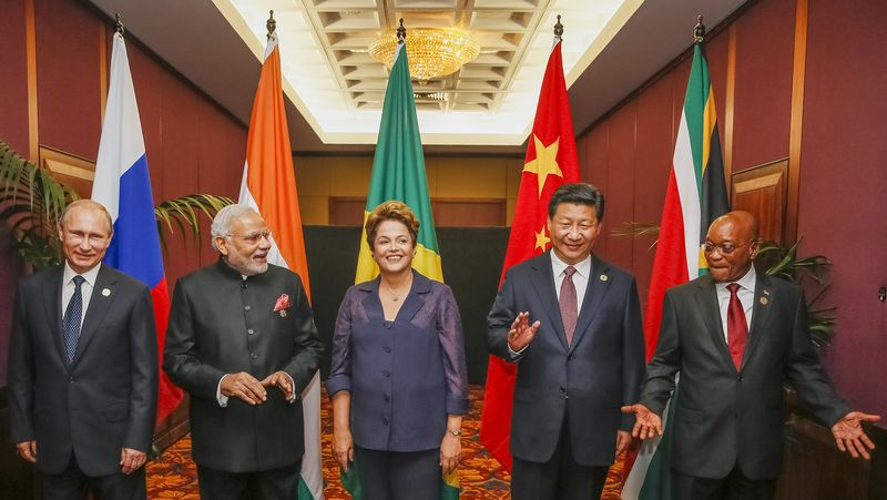 BRICS heads of state and government ahead of the 2014 G-20 summit in Brisbane, Australia (Agencia_Brasil)